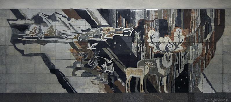 мрамор в метро новосибирска
