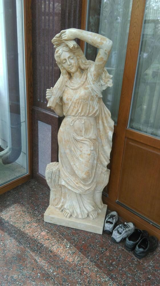 """скульптура из мрамора"""