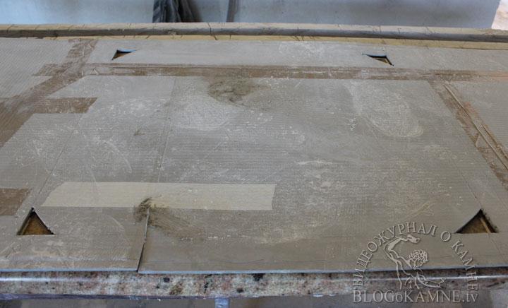 врезка варочной панели в столешницу