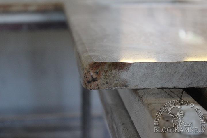 обработка углов столешницы