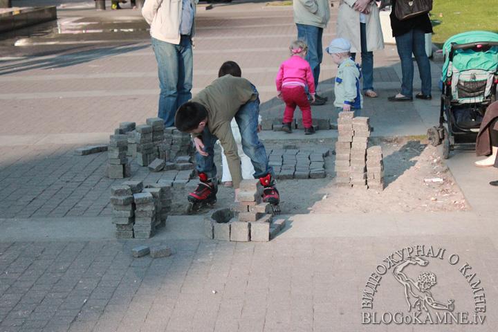 московская площадь фонтаны