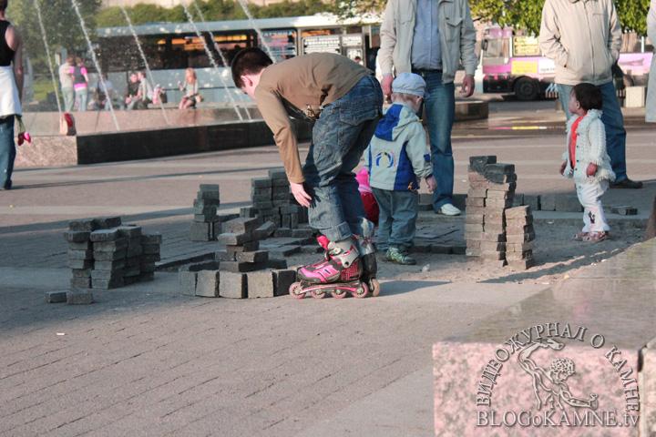 брусчатка из гранита Петербург