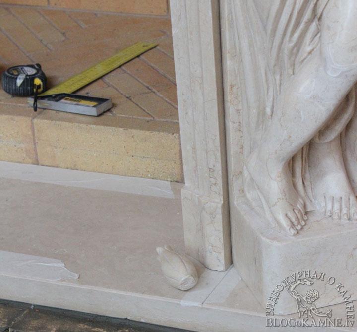 реставрация мраморного портала