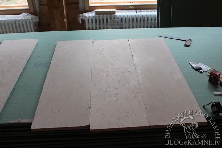 изготовление мраморного обрамления