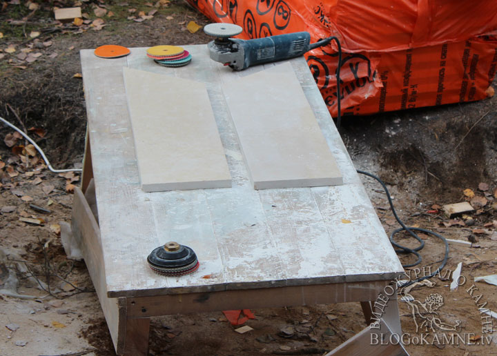 реставрация камина с кариатидами