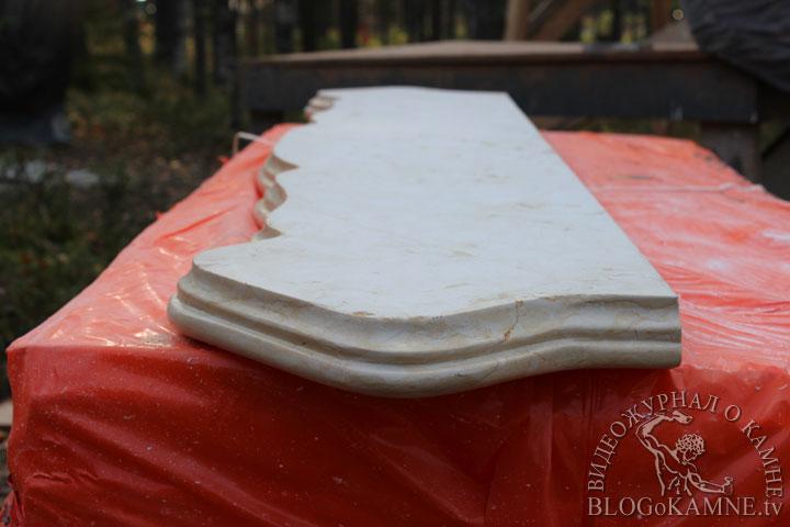 реставрация крышки камина