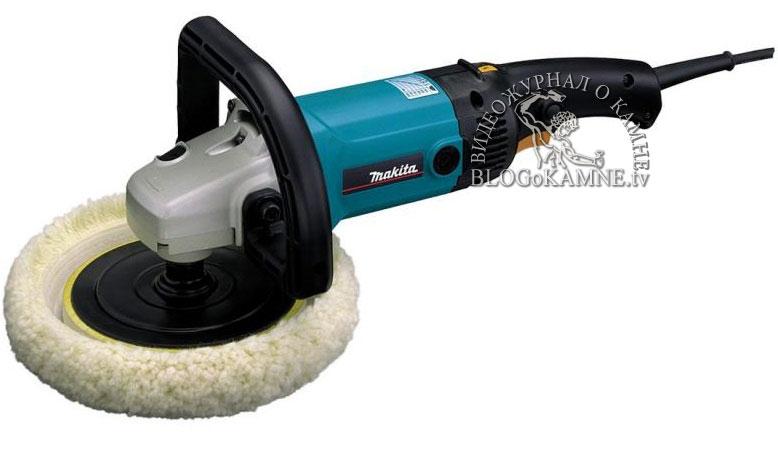 Makita-9227CB для полировки гранита