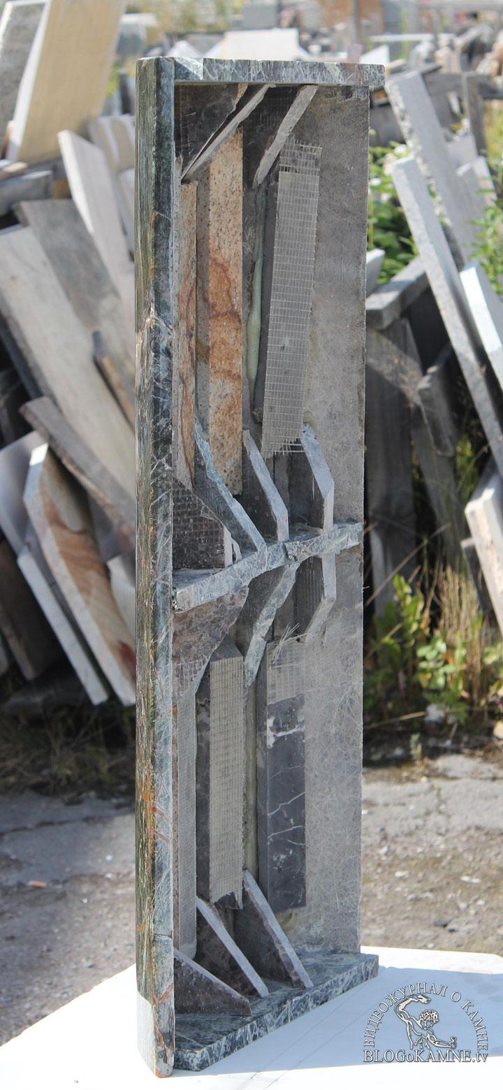 устройство колонн из мрамора