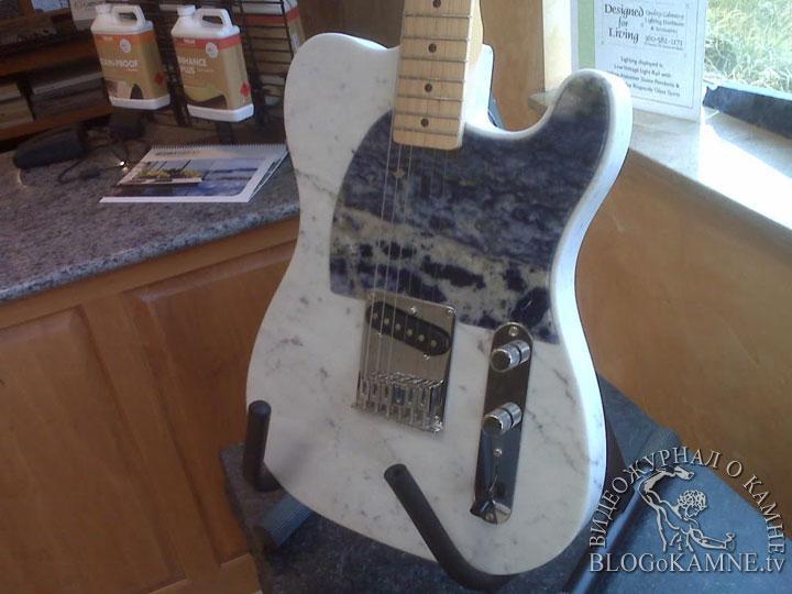 гитара из мрамора