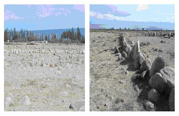 менгиры каменные аллеи