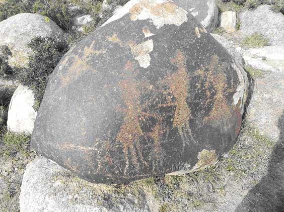 петроглифы на дольменах