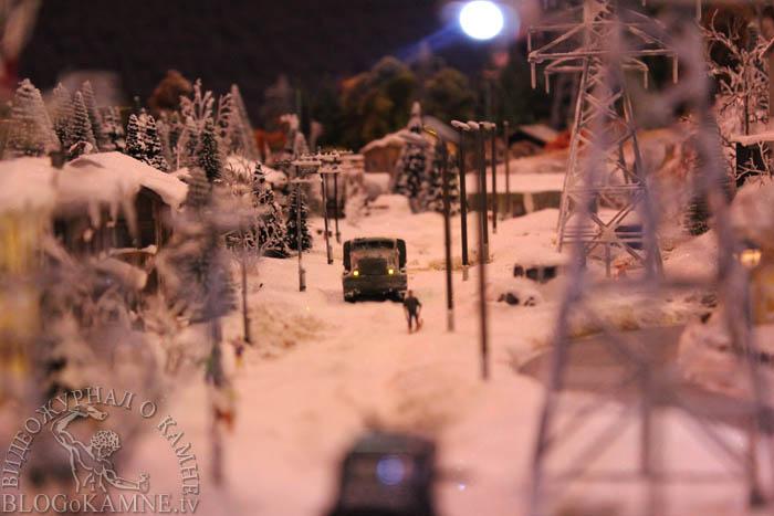 гранд макете россии зимой