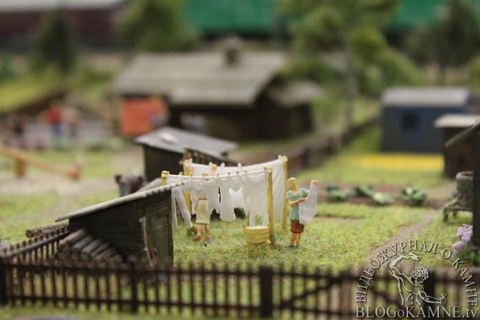 сельская жизнь на гранд макете россии