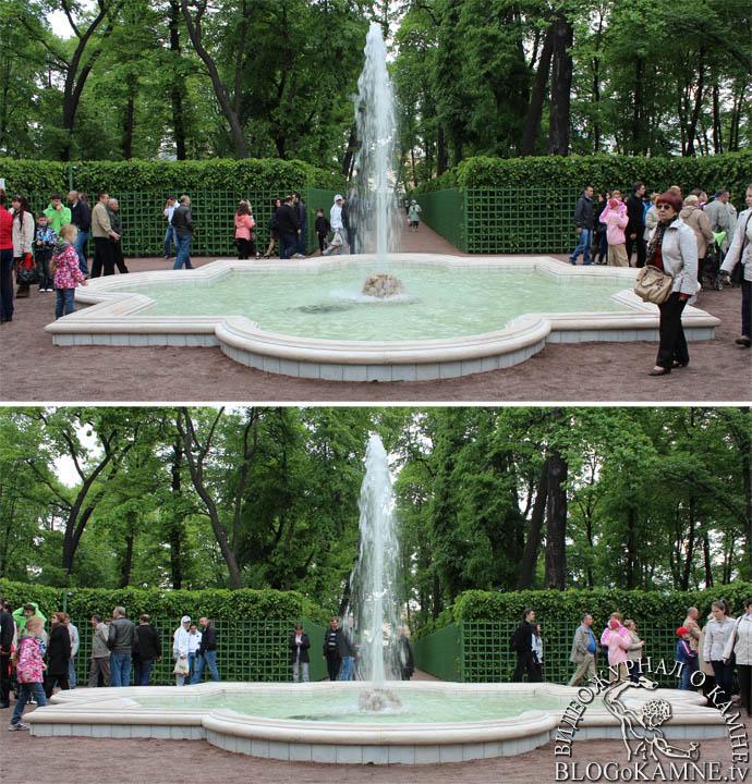фонтаны из мрамора летний сад