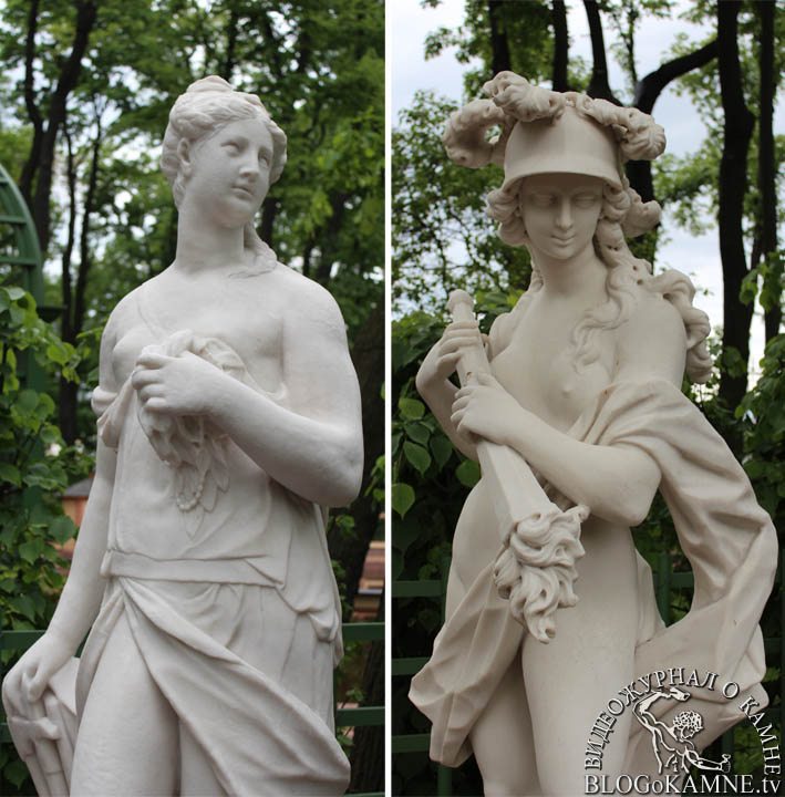 мраморная скульптура немезида